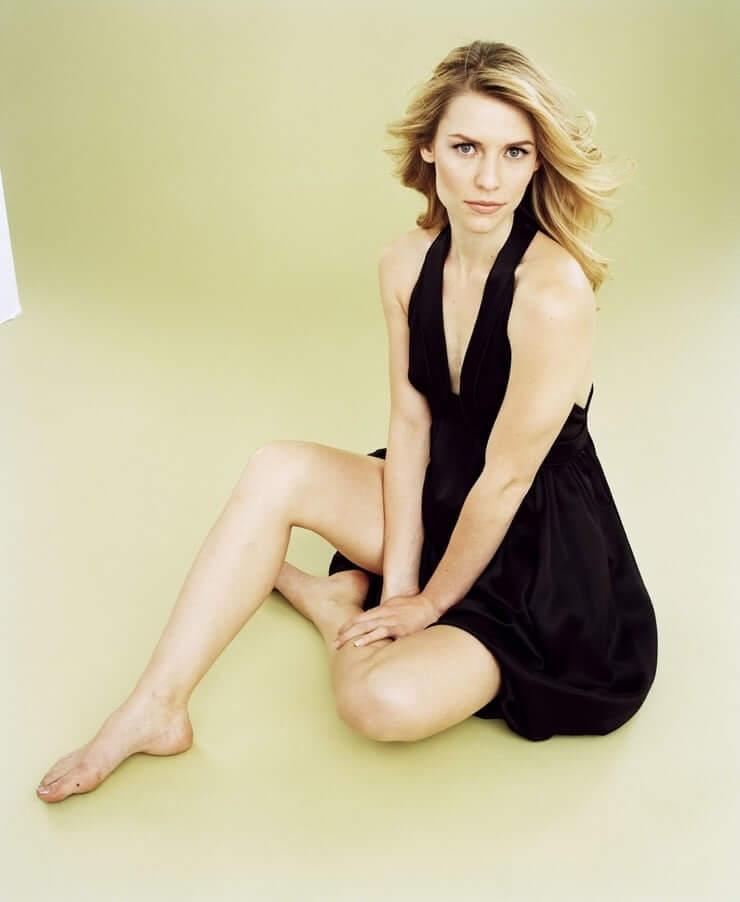 claire danes bare feet