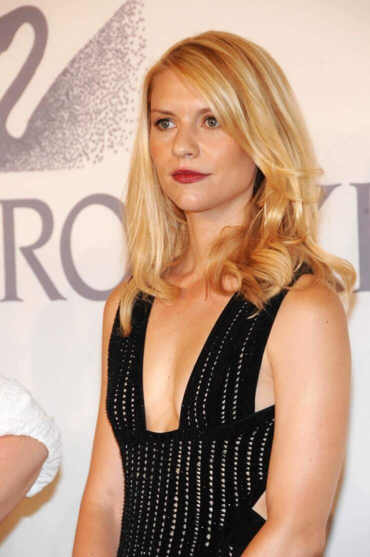 claire danes cleavage pictures