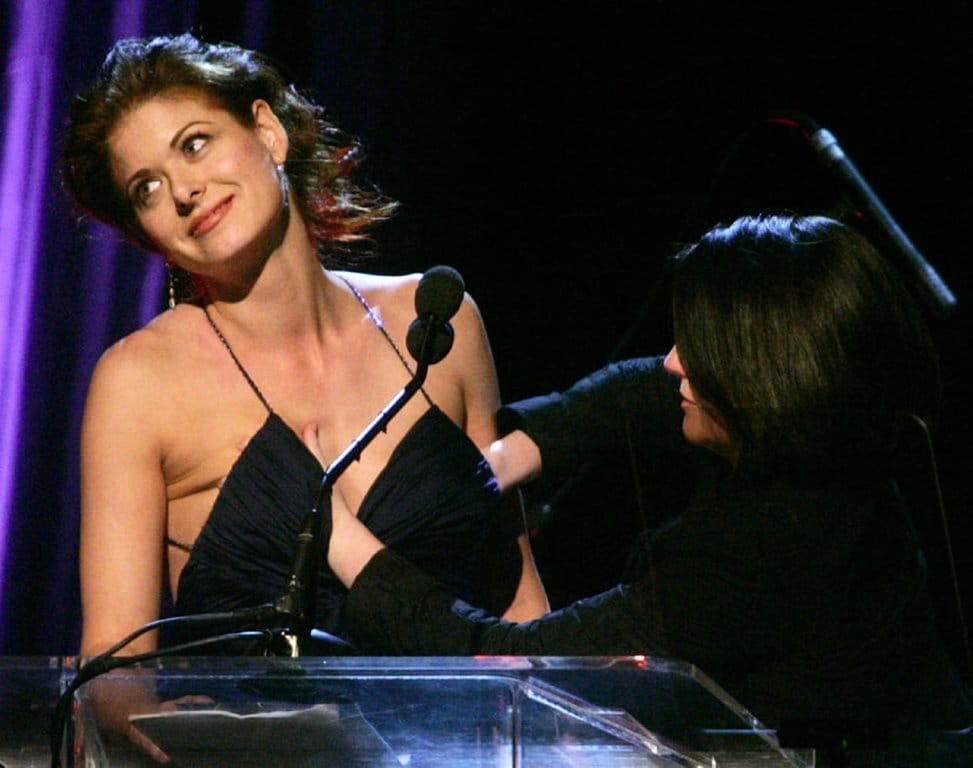 debra messing hot photo