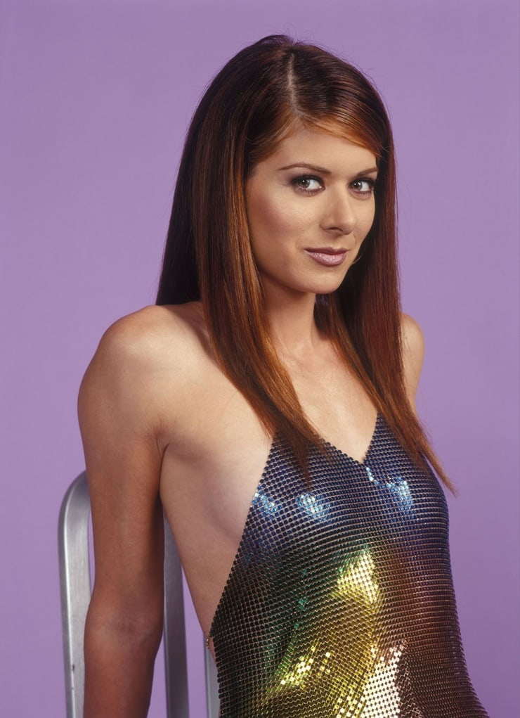 debra messing sexy look