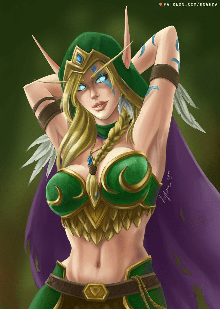 Alleria Windrunner sexy pic