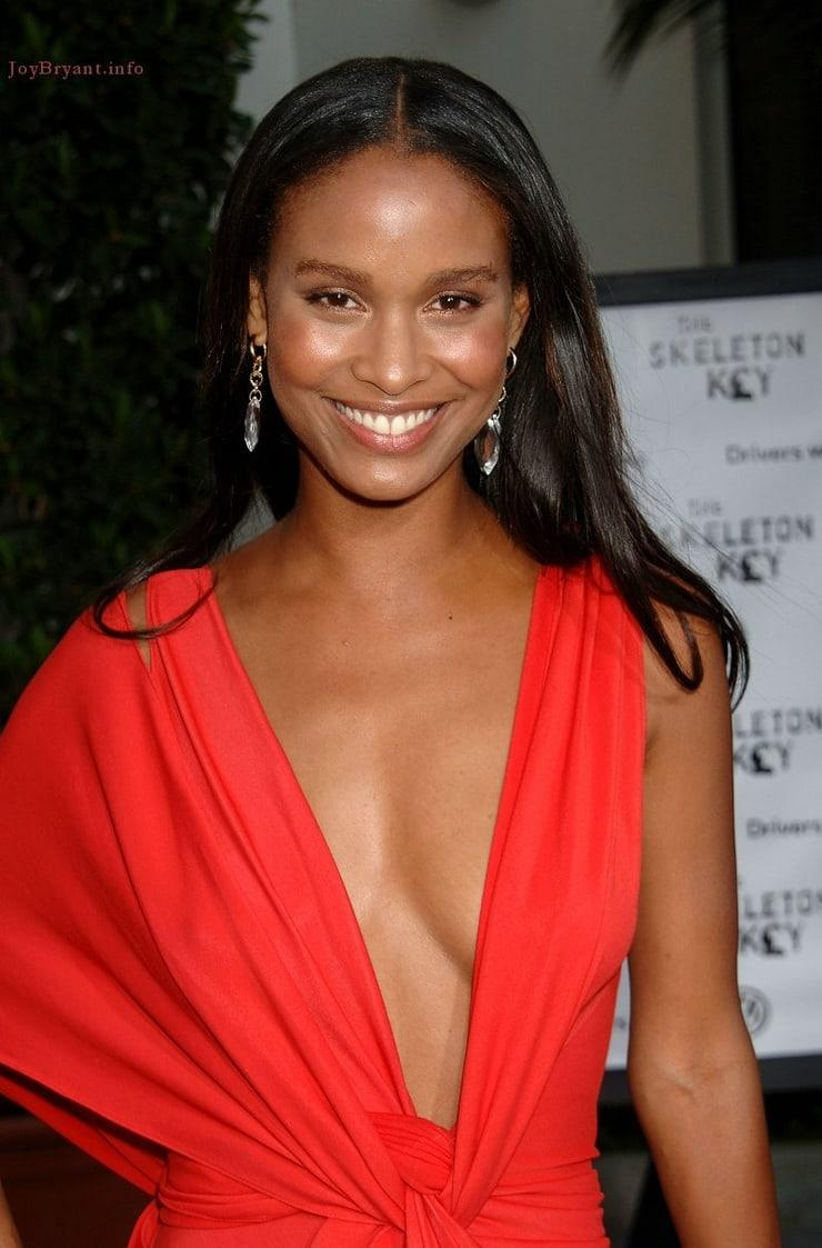 Joy Bryant sexy cleavage