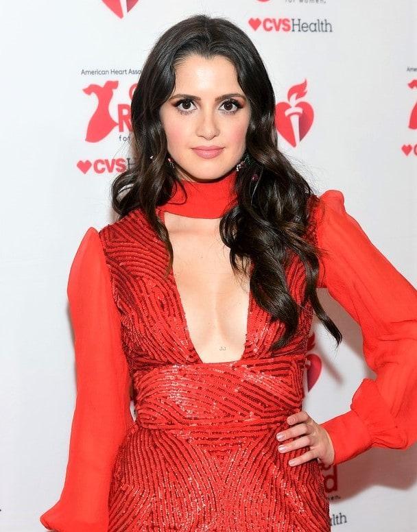 Laura Marano sexy cleavage