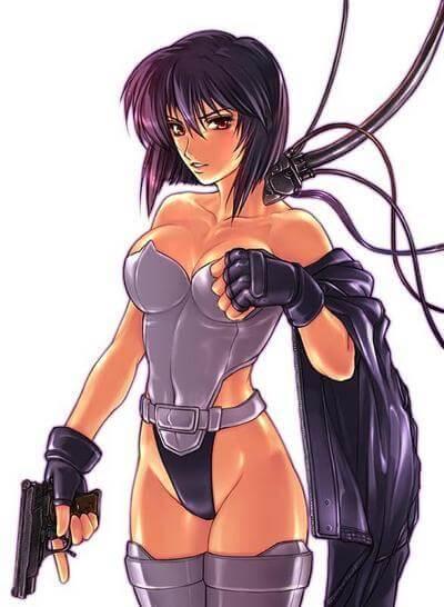 Major Motoko Kusanagi hot pics