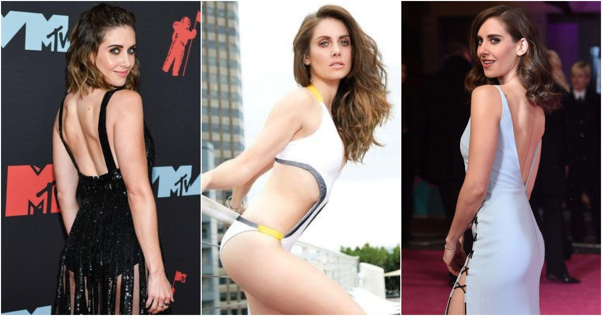51 Hottest Alison Brie Big Butt Pictures Which Will Get You Completely Perspiring