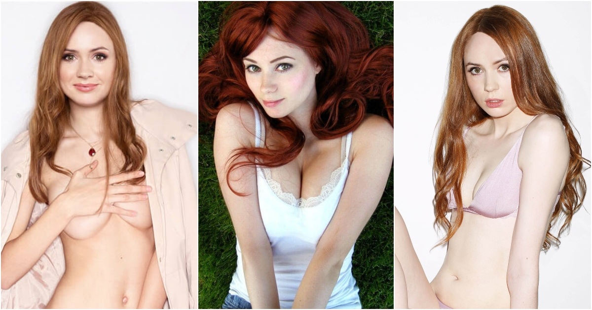 51 Hottest Karen Gillan Boobs Pictures Expose Her Perfect Cleavage