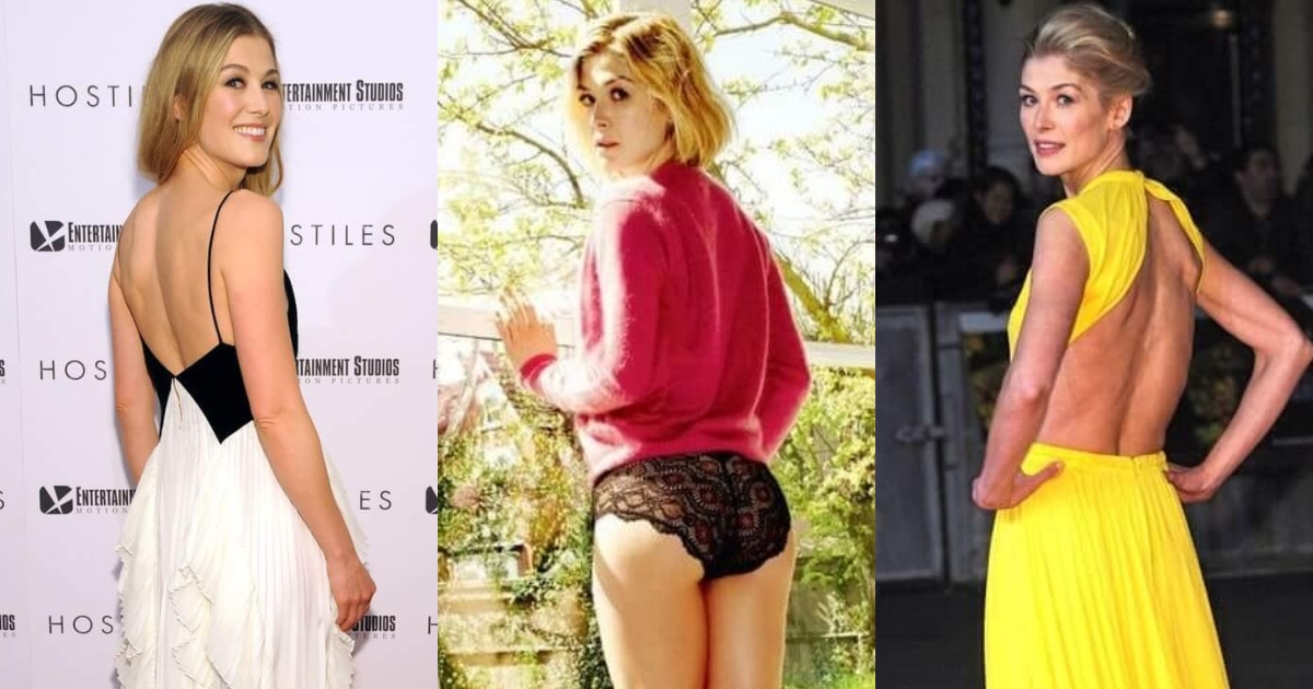 51 Hottest Rosamund Pike Big Butt Pictures Uncover Her Attractive Assets