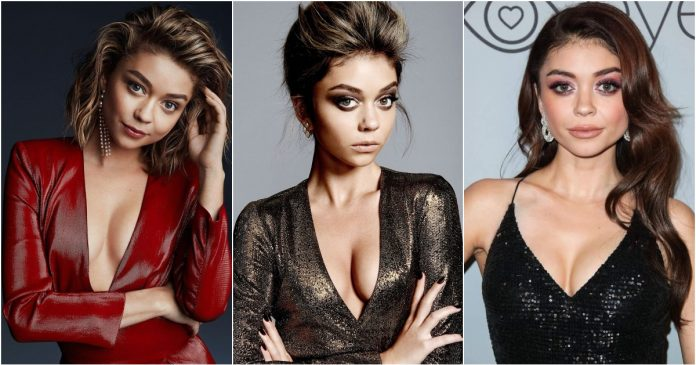 51 Hottest Sarah Hyland Boobs Pictures That Look Flaunting In A Bikini