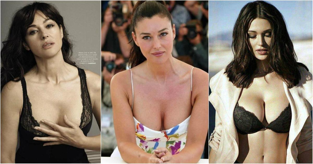 51 Monica Belucci Hottest Pictures You Just Can't Lay Your Eyes Off
