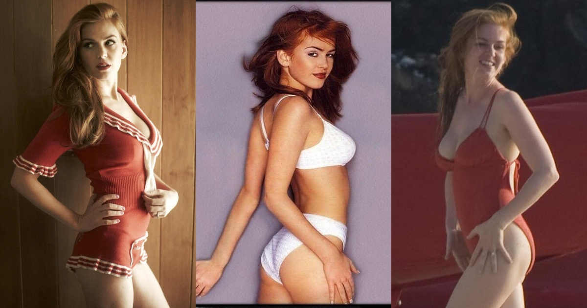 51 Sexiest Isla Fisher Big Butt Pictures Are So Round and Big You Can Only Imagine How Hot She'd Look in a Bikini