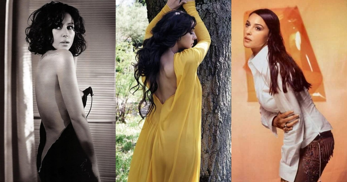 51 Sexiest Monica Bellucci Butt Pictures Are Windows Into Paradise