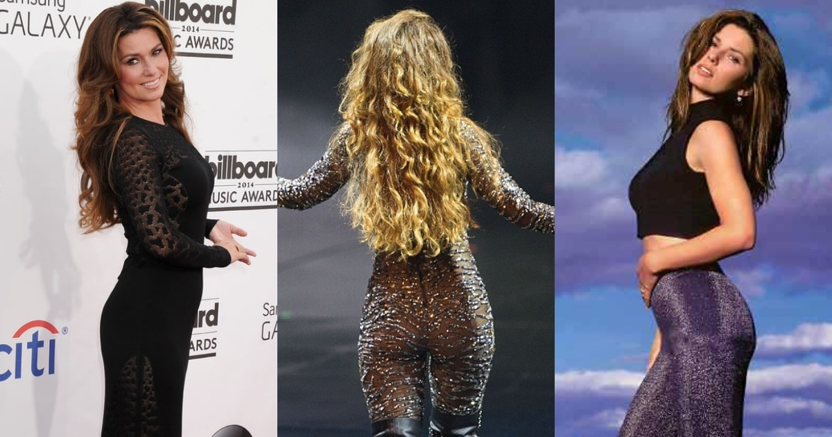 51 Sexiest Shania Twain Big Butt Pictures Which Are Inconceivably Beguiling
