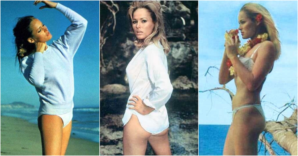 51 Sexiest Ursula Andress Big Butt Pictures Which Are Incredibly Bewitching To Watch