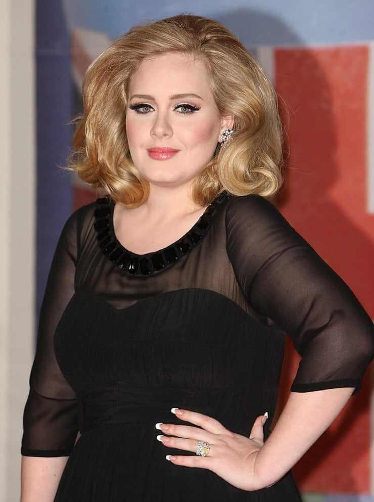 Adele big busty pics