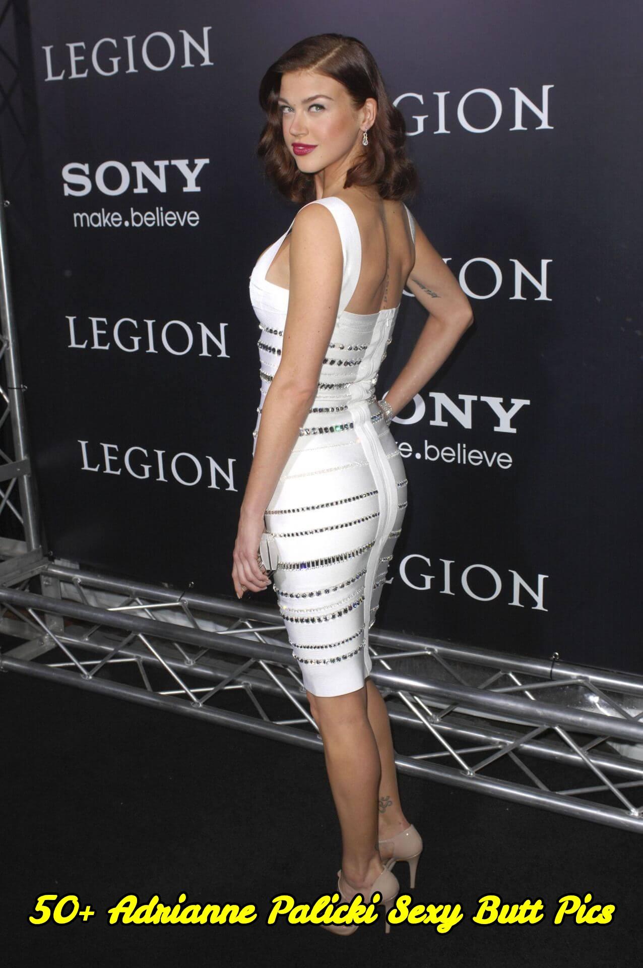 Adrianne Palicki sexy butt pics