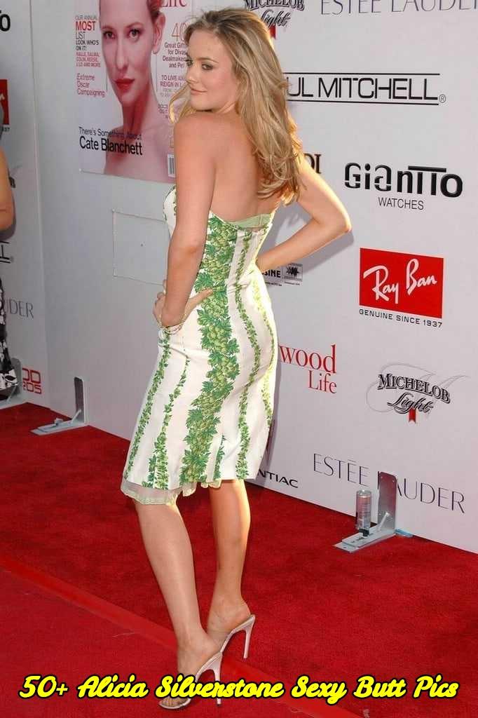 Alicia Silverstone sexy butt pics