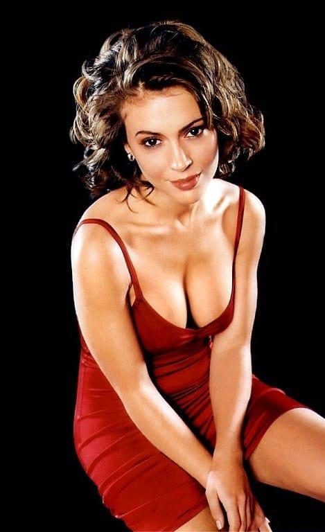 Alysa Milano big boobs pics