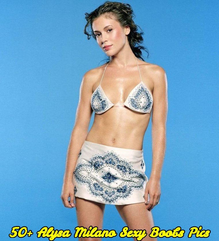 Alysa Milano sexy boobs pics