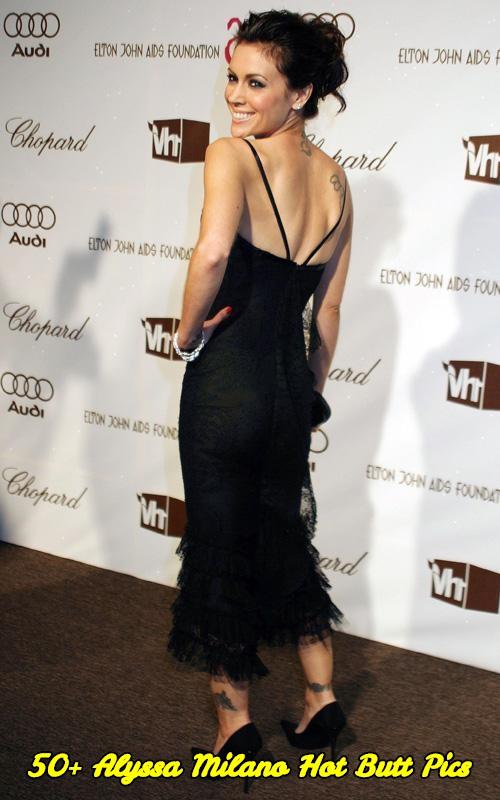 Alyssa Milano hot butt pics