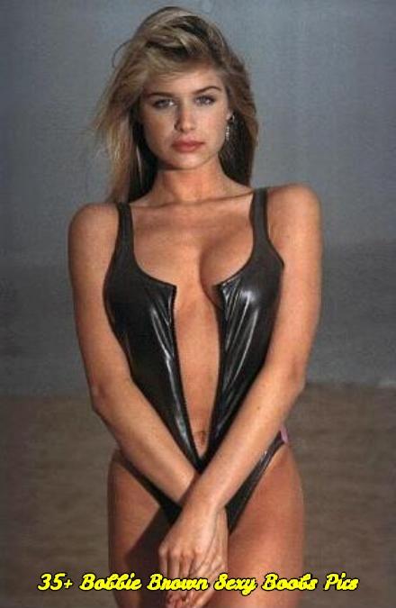 Bobbie Brown sexy boobs pics