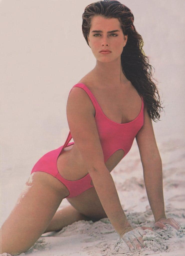Brooke Shields sexy look