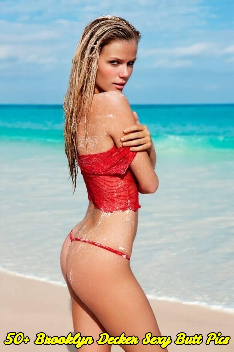 Brooklyn Decker sexy butt pics