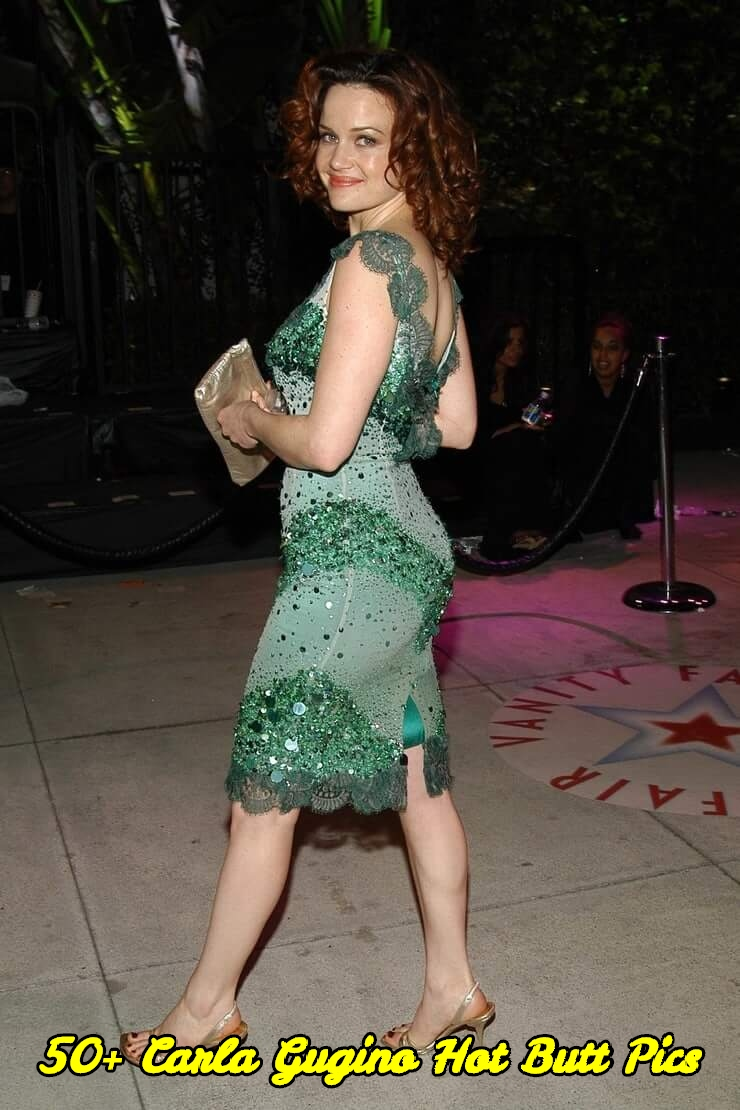 Carla Gugino hot butt pics