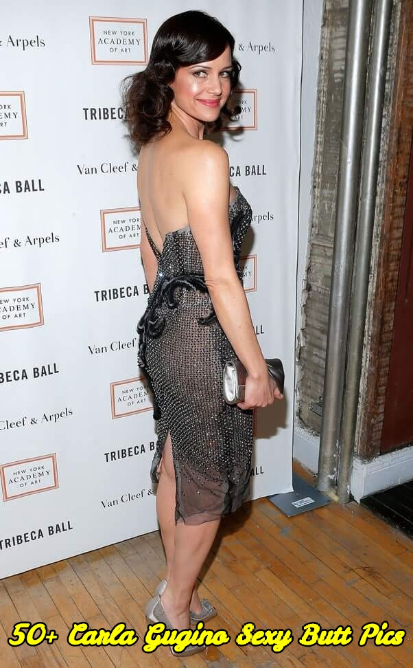 Carla Gugino sexy butt pics