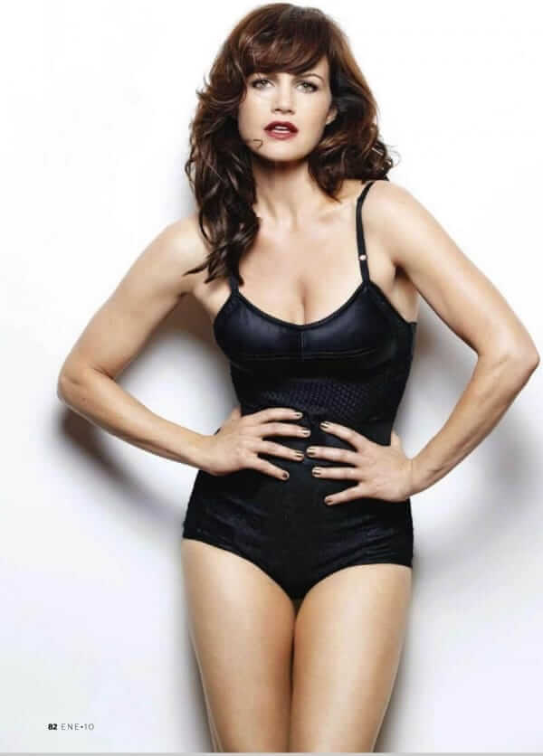 Carla Gugino sexy lingerie pics