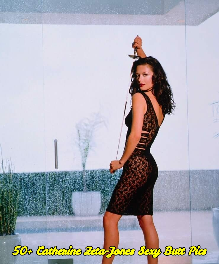 Catherine Zeta-Jones sexy butt pics