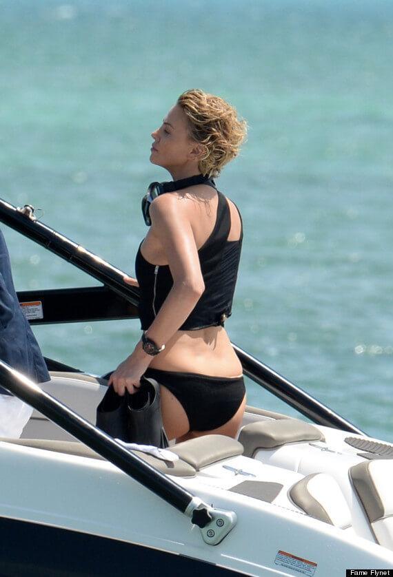 Charlize Theron amazing butt pics