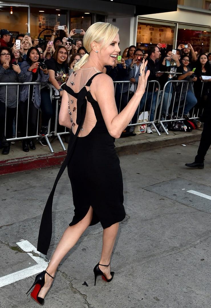 Charlize Theron big booty pics