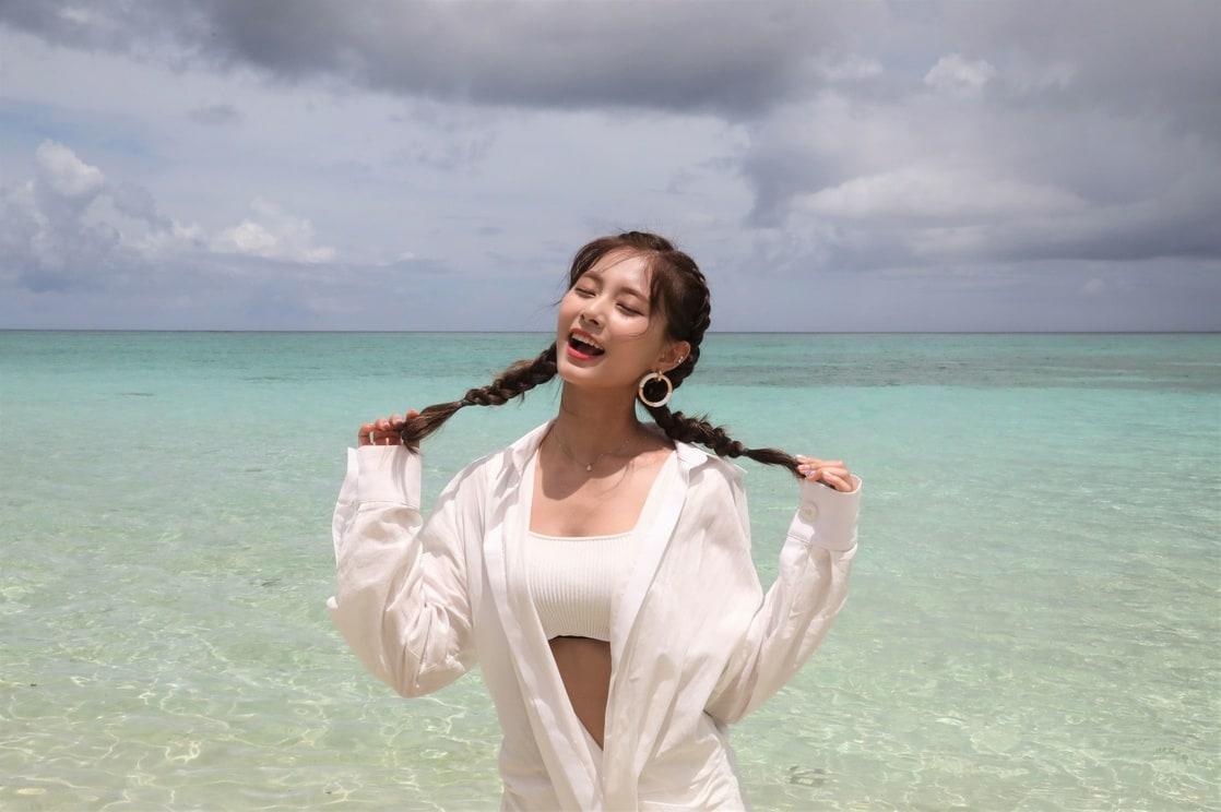 Chou Tzu-yu hot photo