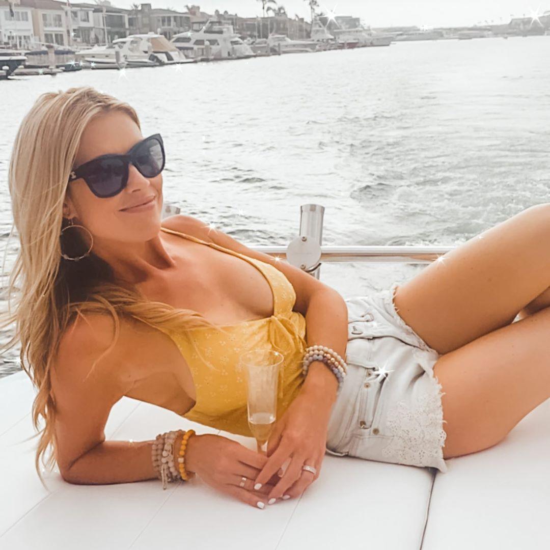 Christina Anstead sexy look