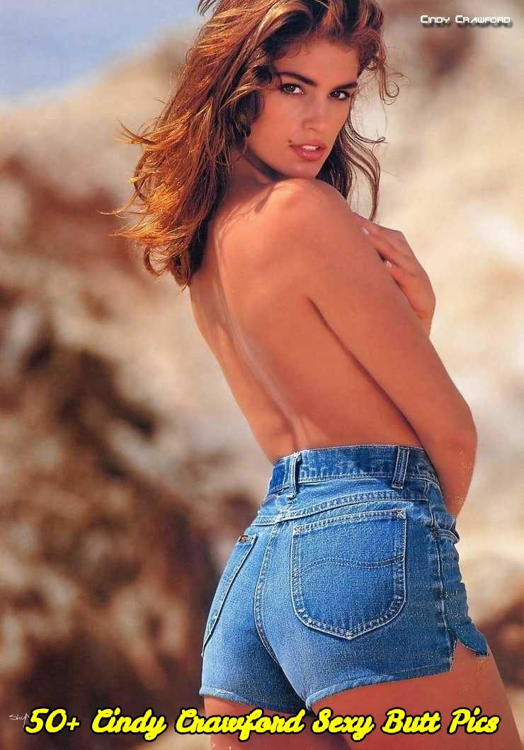 Cindy Crawford sexy butt pics