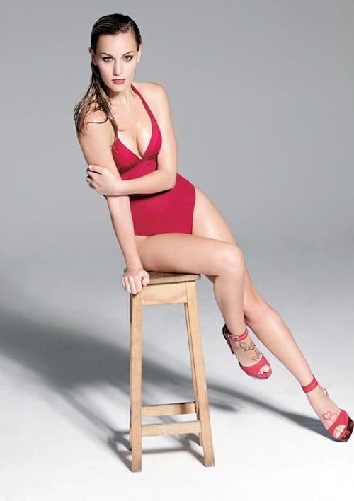 Edurne sexy lingerie pics