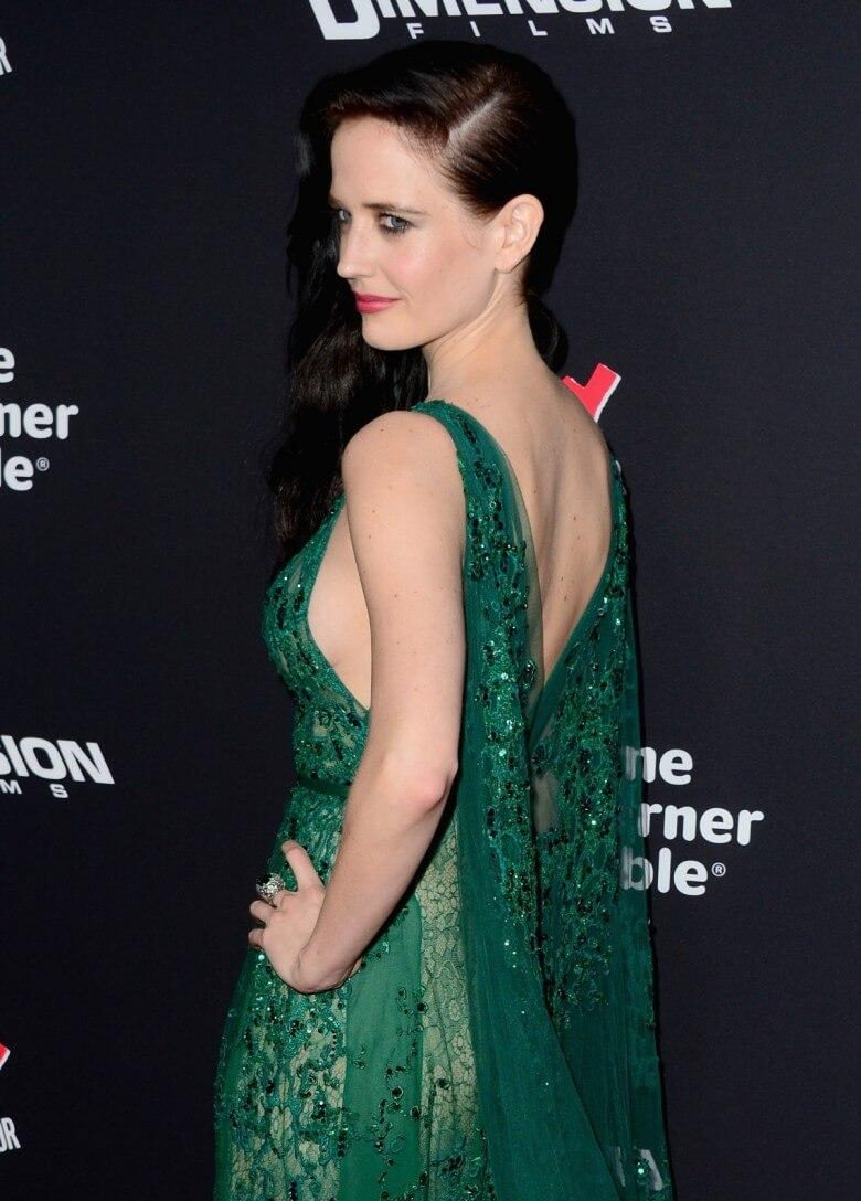 Eva Green sexy back pics