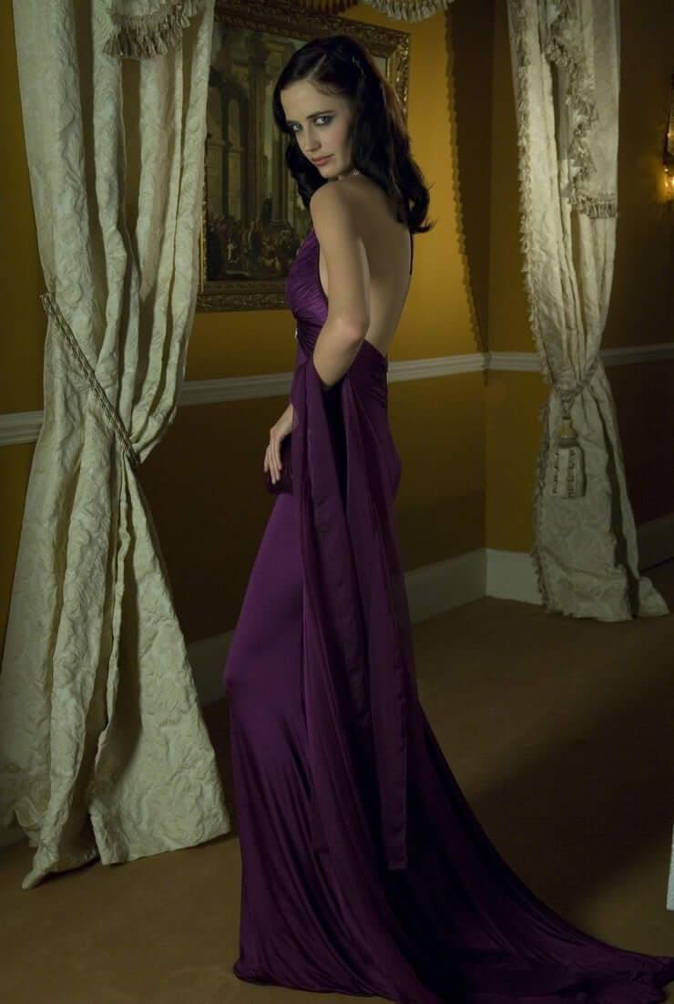 Eva Green sexy backless pics