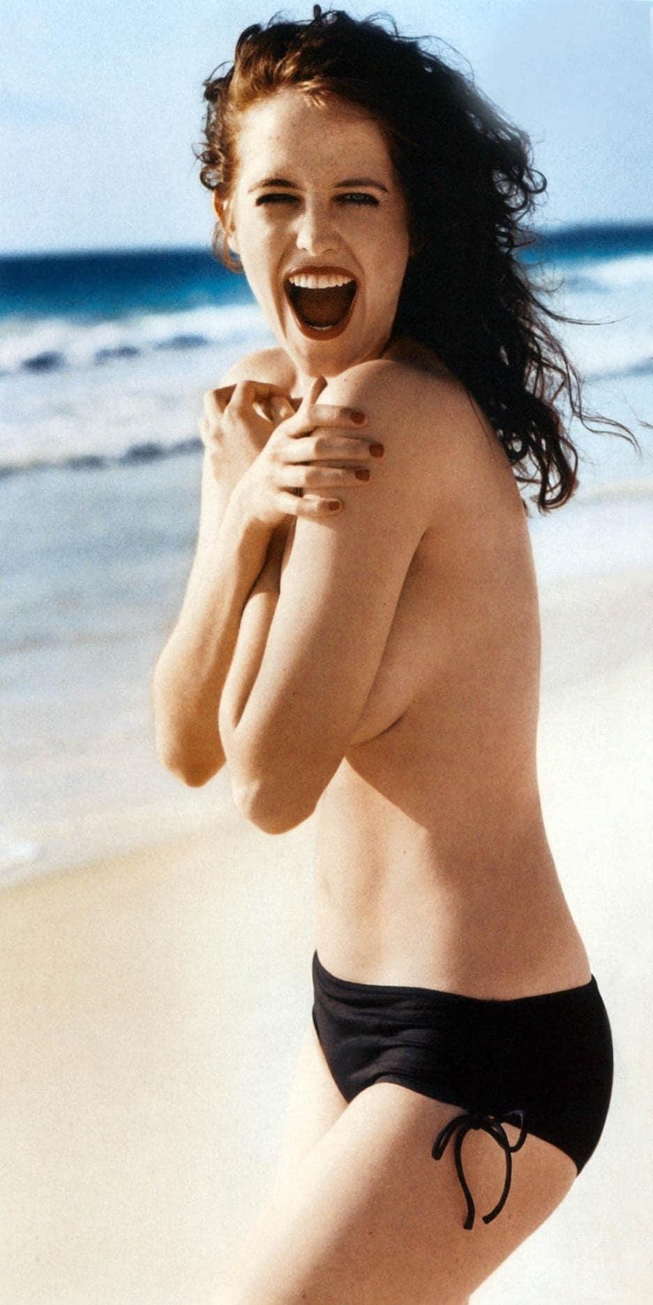 Eva Green sexy side ass pics