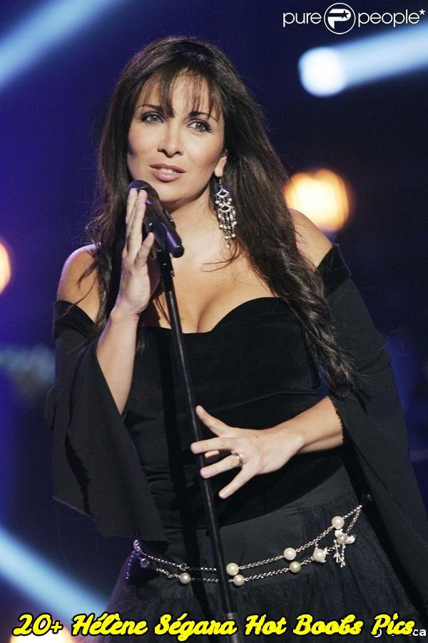 Hélène Ségara hot boobs pics