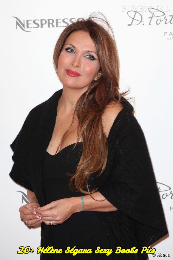 Hélène Ségara sexy boobs pics