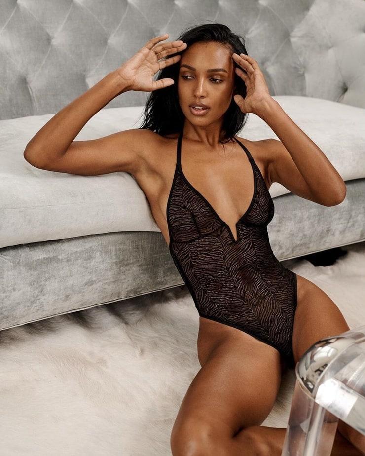 Jasmine Tookes hot lingerie pictures