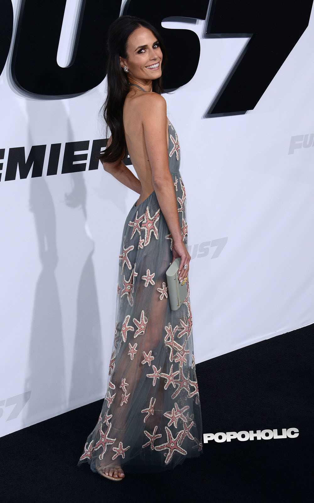 Jordana Brewster sexy back pics