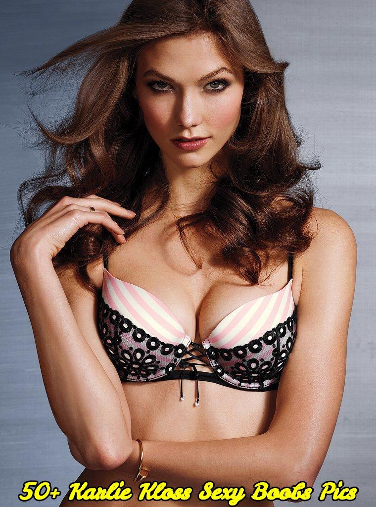 Karlie Kloss sexy boobs pics