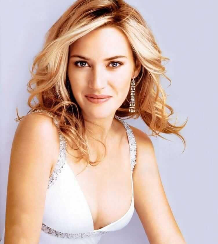 Kate Winslet sexy cleavage pics