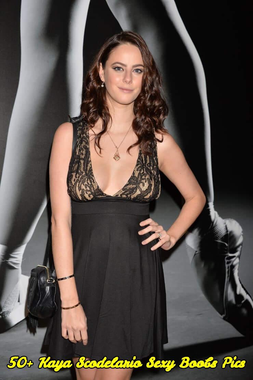 Kaya Scodelario sexy boobs pics