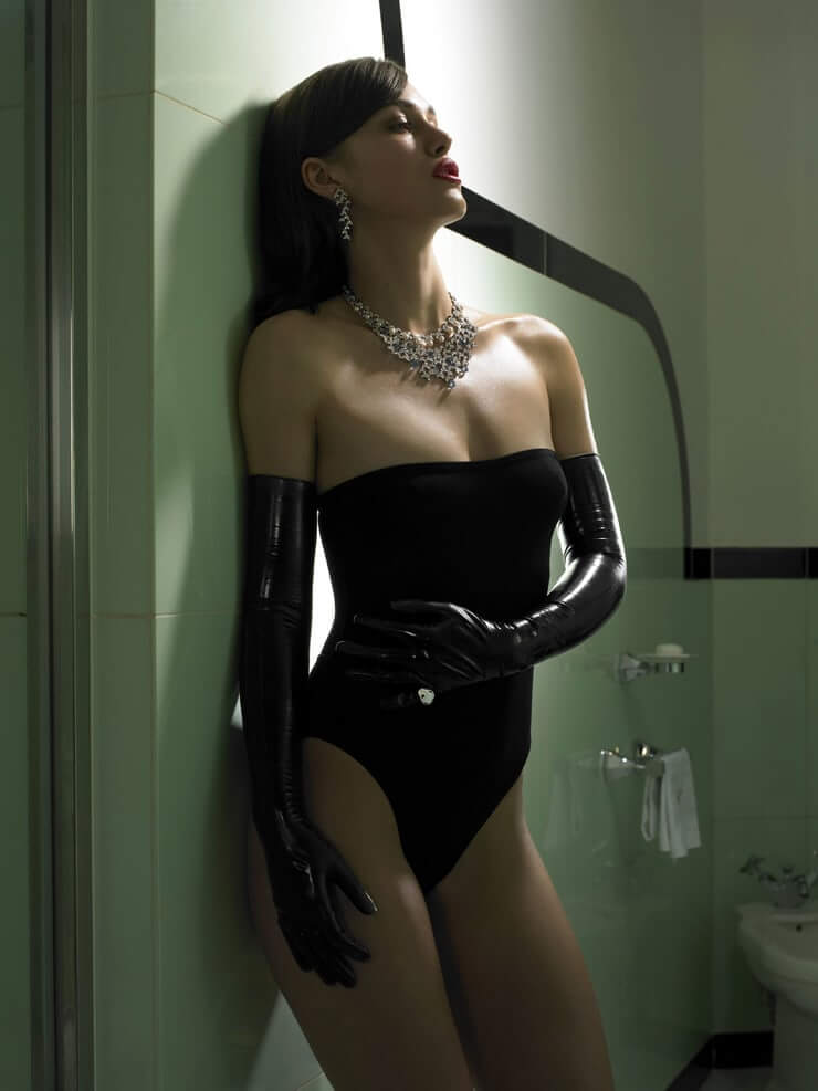 Keira Knightley hot lingerie pics