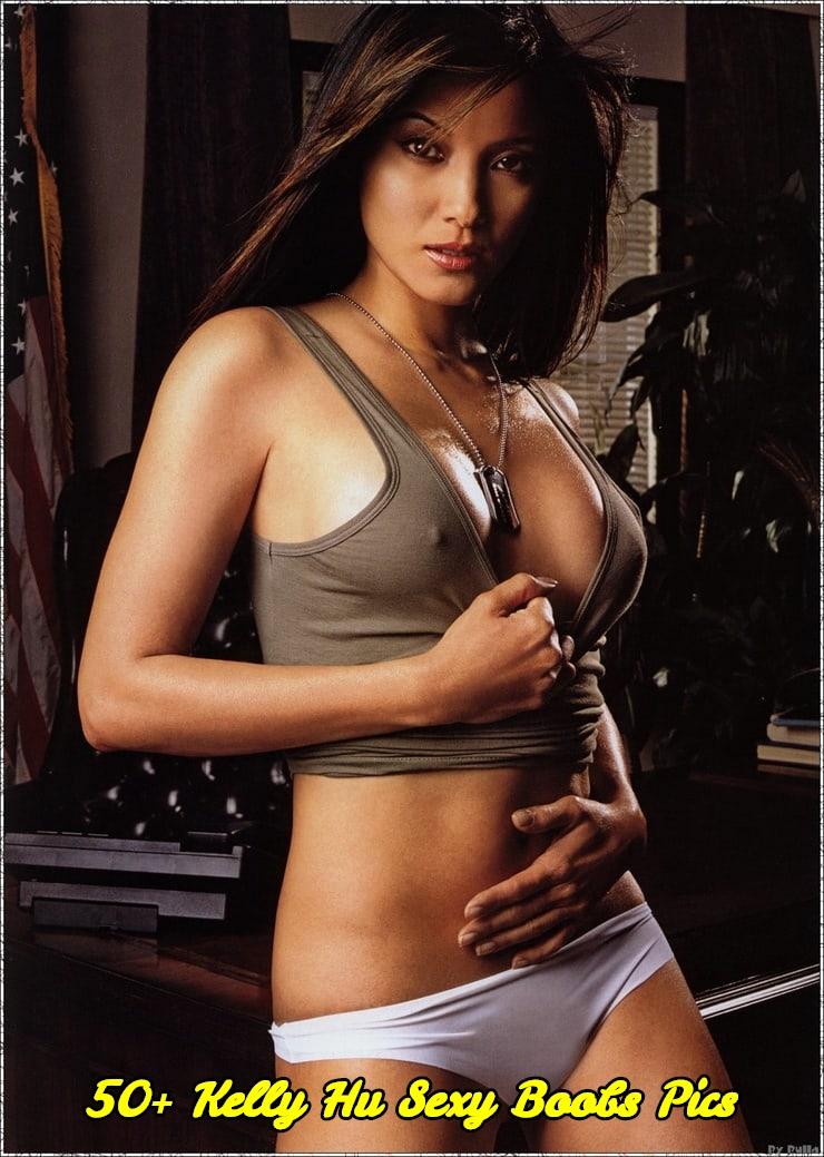 Kelly Hu sexy boobs pics