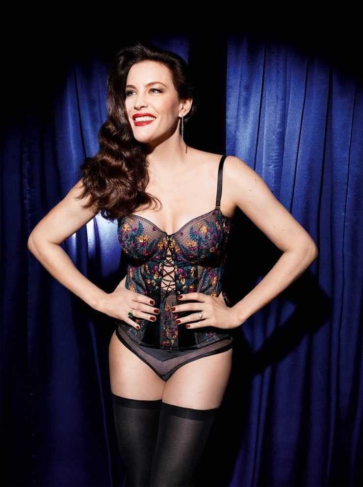 Liv Tyler hot lingerie pics