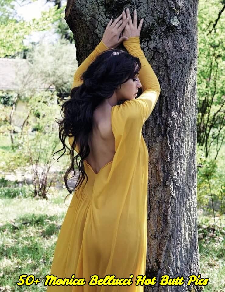 Monica Bellucci hot butt pics